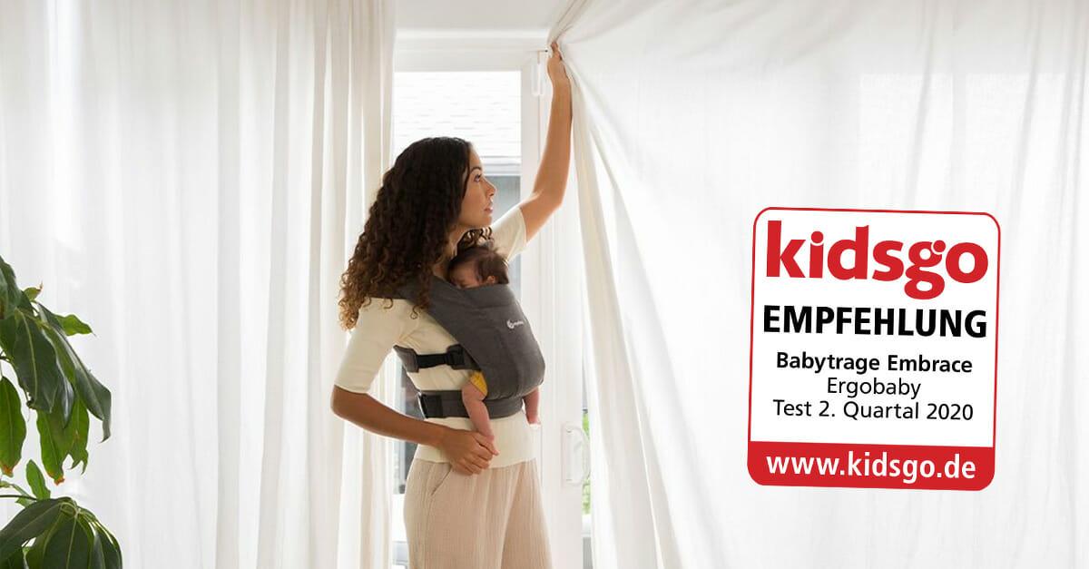 Ergobaby Embrace kidsgo-Siegel