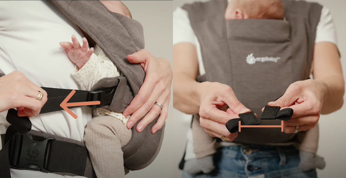 Ergobaby Embrace How To Schultergurte Rücken