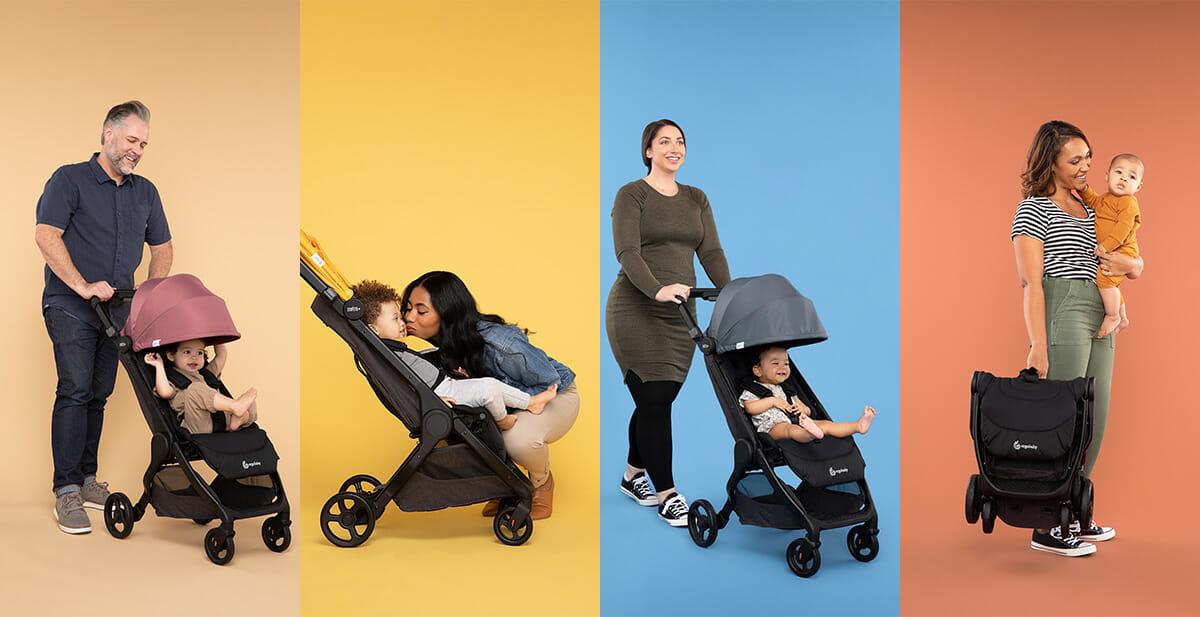 Ergobaby Metro+ Sunshades Kinderwagen Stroller
